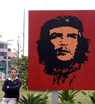 John and Che. His image is everwhere. (Che's)